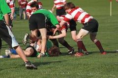 Rugby in der Tätigkeit Stockbilder