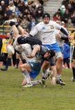 Rugby di nazioni di ERB sei - Italia contro la Scozia immagini stock libere da diritti