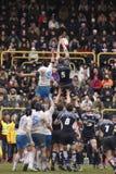Rugby di nazioni di ERB sei - Italia contro la Scozia Immagini Stock