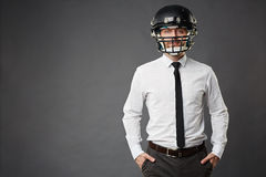 Rugby fan Stock Photography