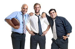 Rugby fans Royalty Free Stock Image