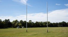 Rugby-Feld Stockbild