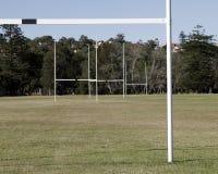 Rugby-Feld Stockfotos