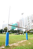 RUGBY FIELD. Outdoor Sports Ground Stock Photography