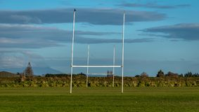Rugby Field Royalty Free Stock Photography