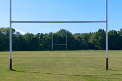 Rugby Field Royalty Free Stock Image