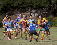Rugby Football Royalty Free Stock Photos