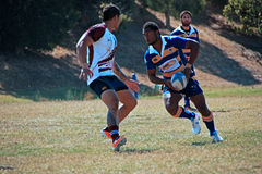 Rugby 7 football field. Melbourne Teenager Rugby 7 Game / American Football  field Stock Photography