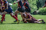 Rugby game Royalty Free Stock Image