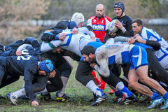 Rugby game Royalty Free Stock Images