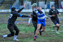 Rugby game Royalty Free Stock Photos