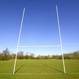 Rugby goal Stock Photos