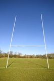 Rugby goal Royalty Free Stock Images