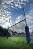 Rugby goalposts Stock Photos