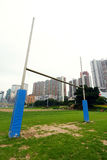 Rugby goalposts Royalty Free Stock Image