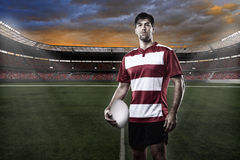 Rugby gracz Obrazy Royalty Free