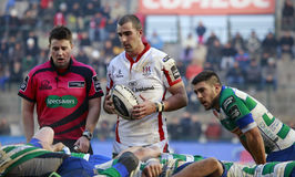 RUGBY GUINNESS PRO 12, BENETTON VS ULSTER - PIENAAR Stock Photos