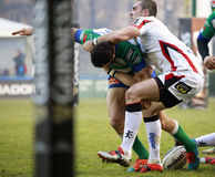 RUGBY GUINNESS PRO 12, BENETTON VS ULSTER - PIENAAR Royalty Free Stock Images