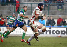 RUGBY GUINNESS PRO-12, BENETTON VS ULSTER - TUOHY Arkivbild