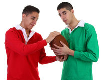 Rugby guys Royalty Free Stock Image