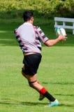 Rugby i Nya Zeeland Arkivbilder