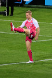 Rugby Jano Vermaak Kick Bulls South Africa 2012 Stock Image