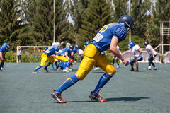 Rugby 7 july Ukraine. Royalty Free Stock Images