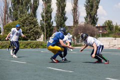 Rugby 7 july Ukraine. Royalty Free Stock Image