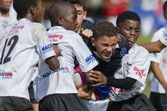 Rugby Junior Schools Stock Photo