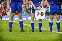 Rugby Kanada fotografia stock