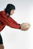 Rugby Kick - vertical Royalty Free Stock Photo