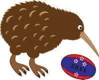 Rugby Kiwi Royalty Free Stock Image