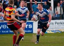 Rugby League, Andy Bracek run Royalty Free Stock Photo