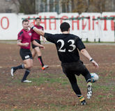 Rugby League Match. Stock Images
