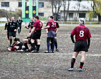 Rugby League Match. Royalty Free Stock Photo