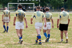 Rugby League match Royalty Free Stock Photos
