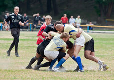 Rugby League match Royalty Free Stock Image