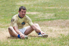 Rugby League match Stock Photography