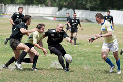 Rugby League match Stock Photos