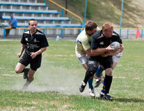 Rugby League match Stock Image