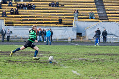 Rugby League match Royalty Free Stock Photo