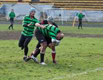 Rugby League match Stock Photo