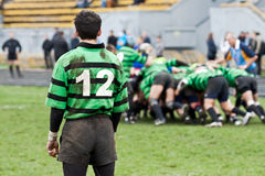 Rugby League match Royalty Free Stock Photography