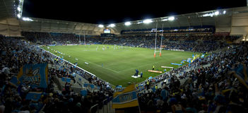 Rugby-Liga-Abgleichung Lizenzfreie Stockbilder