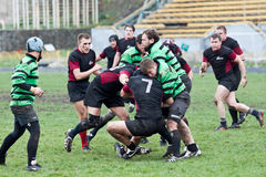 Rugby Liga dopasowanie Zdjęcia Royalty Free
