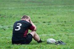 Rugby-Ligaabgleichung Stockbild