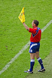 Rugby Line Judge at Twickenham Royalty Free Stock Photo