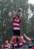 Rugby Line Out Stock Photos