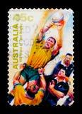 Rugby: Lineout, serie di rugby della prova, circa 1999 Fotografie Stock