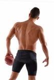 Rugby mężczyzna Zdjęcia Royalty Free